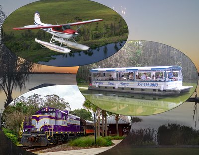 Lake Dora by Air, Land & Sea Package