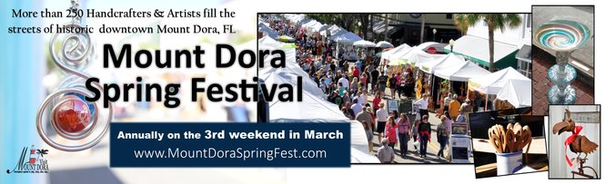 Mount Dora Spring Fest - 3rd Weekend in March Annually