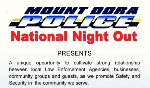 2018 Mount Dora Police Department National Night Out @ Target Store Mount Dora | Reddick | Florida | United States