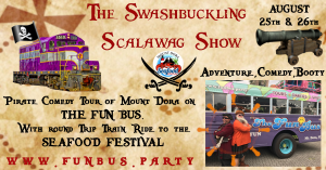 The Swashbuckling Scalawag Show @ Mount Dora Plaza | Mount Dora | Florida | United States