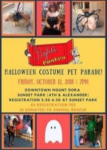 Halloween Costume Pet Parade @ Sunset Park | Mount Dora | Florida | United States