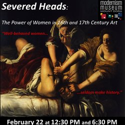 Severed Heads: The Power of Women in 16th and 17th Century Art @ 1921 Mount Dora | Mount Dora | Florida | United States